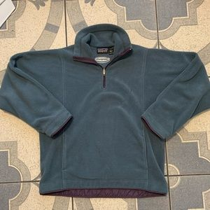 Vintage Patagonia Synchilla 1/4 Zip Pullover Sz M